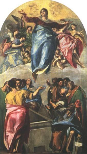 GRECO El Assumption of The Virgin
